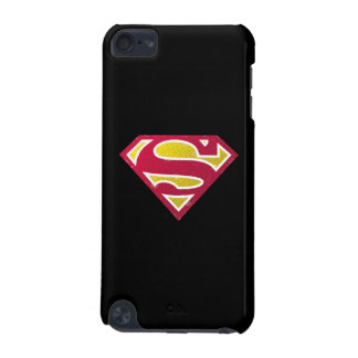 Superman S-Shield | Distressed Dots Logo iPod Touch (5th Generation) Covers