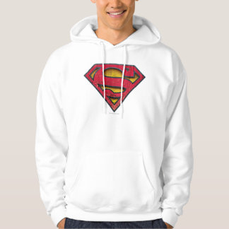 Superman S-Shield | Distressed Logo Hoodies