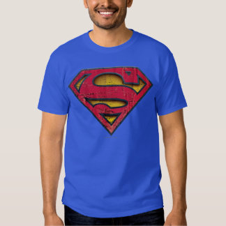 Superman S-Shield | Distressed Logo Shirts