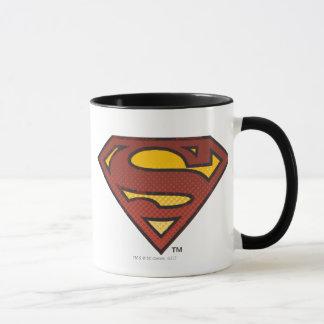 Superman S-Shield | Faded Dots Logo Mug