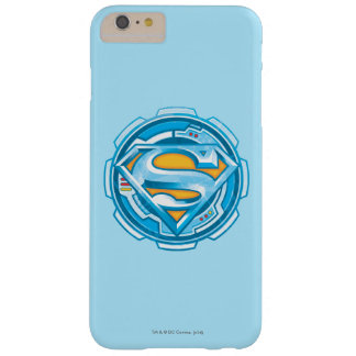 Superman S-Shield | Gear Logo Barely There iPhone 6 Plus Case