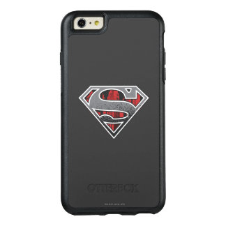 Superman S-Shield | Grey and Red City Logo OtterBox iPhone 6/6s Plus Case