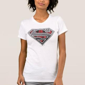 Superman S-Shield | Grey and Red City Logo T-Shirt