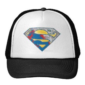 Superman S-Shield | Grey Yellow Red Black Mix Logo Cap