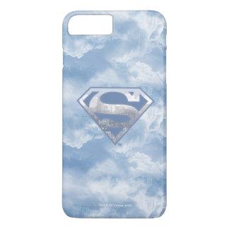 Superman S-Shield | Light Blue City Logo iPhone 7 Plus Case