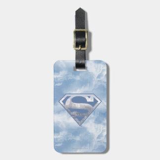 Superman S-Shield | Light Blue City Logo Luggage Tag