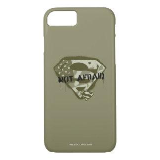 Superman S-Shield | Not Afraid - US Camo Logo iPhone 7 Case
