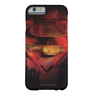 Superman S-Shield | Painted Logo Barely There iPhone 6 Case