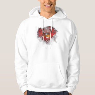 Superman S-Shield | Painted Logo Hoodie