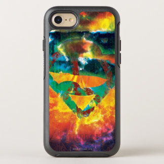 Superman S-Shield | Peace Stamped Logo OtterBox Symmetry iPhone 7 Case
