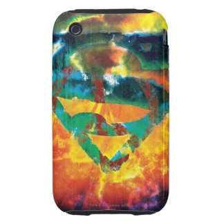 Superman S-Shield | Peace Stamped Logo Tough iPhone 3 Case