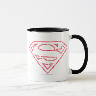 Superman S-Shield | Red Outline Logo Mug