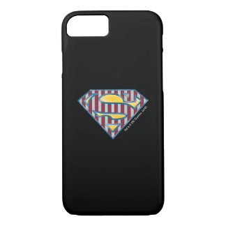 Superman S-Shield | Striped Logo iPhone 7 Case