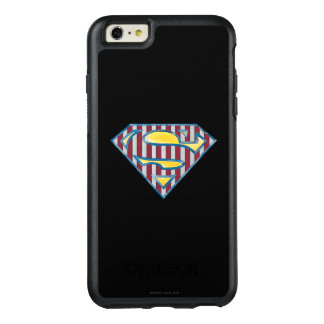 Superman S-Shield | Striped Logo OtterBox iPhone 6/6s Plus Case