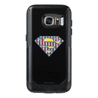 Superman S-Shield | Striped Logo OtterBox Samsung Galaxy S7 Case