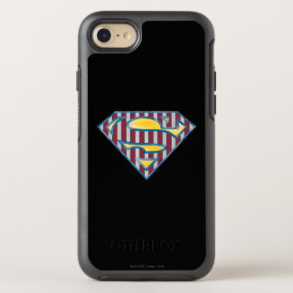 Superman S-Shield | Striped Logo OtterBox Symmetry iPhone 7 Case