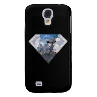 Superman S-Shield | Superman in S-Shield Logo Samsung Galaxy S4 Covers