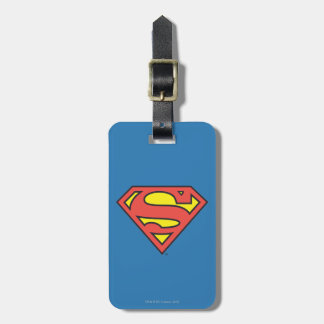 Superman S-Shield | Superman Logo Luggage Tag
