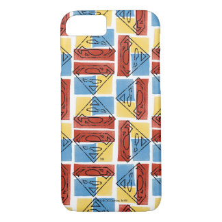 Superman Shield with Colors iPhone 7 Case