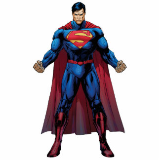 Superman Standing Acrylic Cut Outs