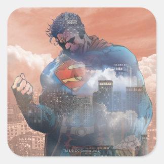 Superman Standing Sticker