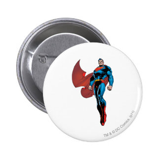 Superman Stands Tall 6 Cm Round Badge