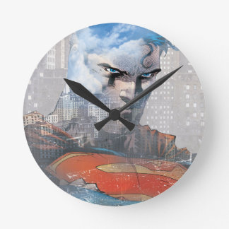 Superman Stare Wallclocks