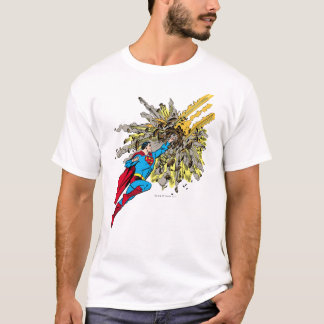 Superman Stops a meteor T-Shirt