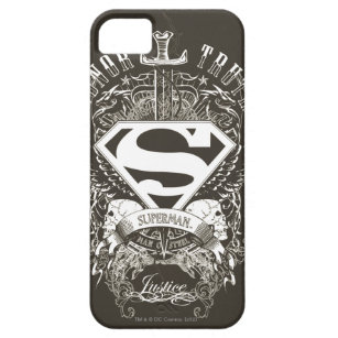Superman Stylised | Honour, Truth and Justice Logo iPhone 5 Cover