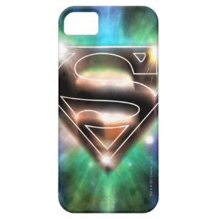 Superman Stylised | Shiny Burst Logo iPhone 5 Case