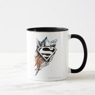 Superman Stylized | Blue OrangeLogo Mug