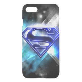 Superman Stylized | Blue White Crystal Logo iPhone 7 Case