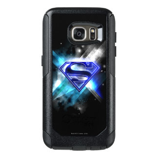 Superman Stylized | Blue White Crystal Logo OtterBox Samsung Galaxy S7 Case