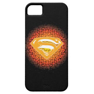 Superman Stylized | Crackle Logo iPhone 5 Case