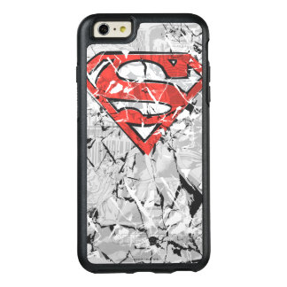 Superman Stylized | Crumpled Comic Logo OtterBox iPhone 6/6s Plus Case