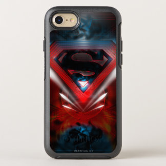 Superman Stylized | Futuristic Logo OtterBox Symmetry iPhone 8/7 Case
