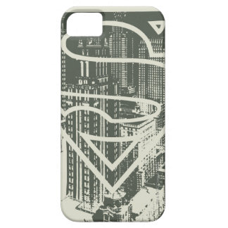 Superman Stylized | Green Metropolis Logo iPhone 5 Cover