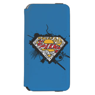 Superman Stylized | Logo with letters Logo Incipio Watson™ iPhone 6 Wallet Case