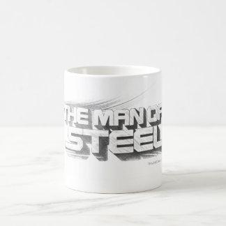 Superman Stylized | Man of Steel Drawing Logo Coffee Mug