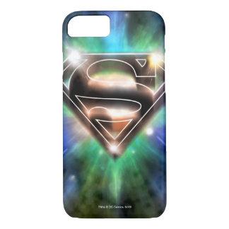 Superman Stylized | Shiny Burst Logo iPhone 7 Case