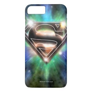 Superman Stylized | Shiny Burst Logo iPhone 7 Plus Case