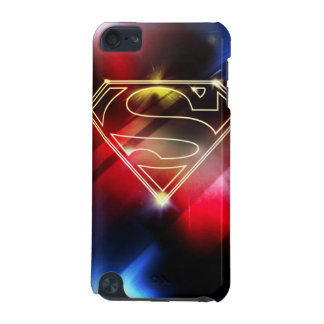 Superman Stylized | Shiny Yellow Outline Logo iPod Touch (5th Generation) Cover