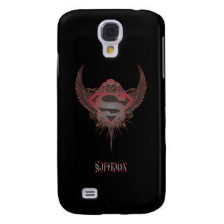 Superman Stylized | Skull and Wings Logo Galaxy S4 Cases