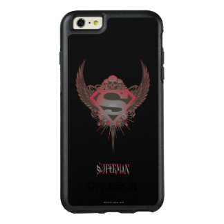 Superman Stylized | Skull and Wings Logo OtterBox iPhone 6/6s Plus Case