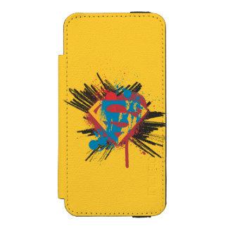 Superman Stylized | Splatter Logo Incipio Watson™ iPhone 5 Wallet Case