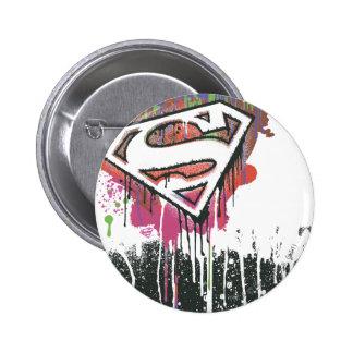 Superman Stylized | Twisted Innocence Logo 6 Cm Round Badge