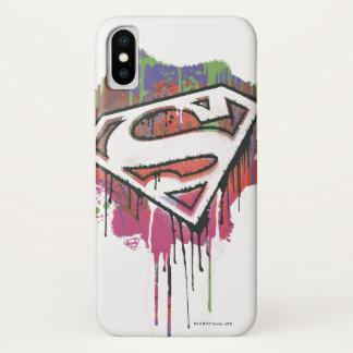 Superman Stylized | Twisted Innocence Logo iPhone X Case