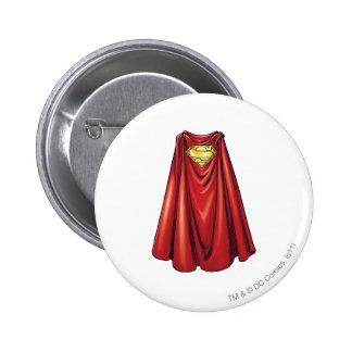 Superman - The Cape 6 Cm Round Badge