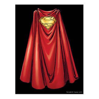 Superman - The Cape Postcard