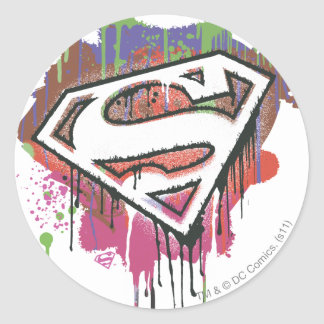 Superman - Twisted Innocence Logo Stickers